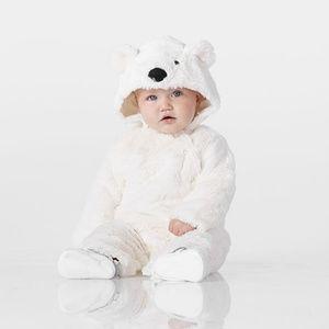 Baby Polar Bear Costume Pottery Barn Kids 0-6M
